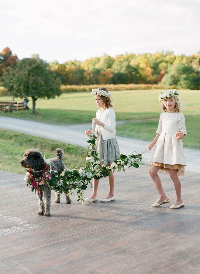 jeunes filles mariage en automne