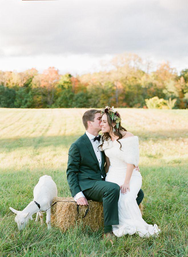 maries mariage en automne