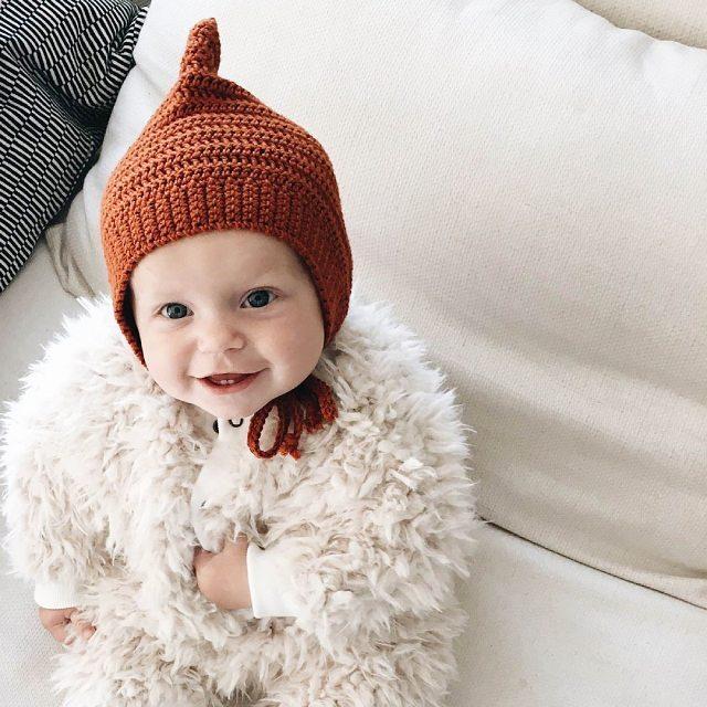 Chez fairepartcrea on adore les petits bonnets pour bbs !hellip