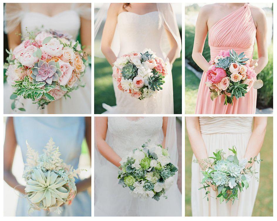 succulentes bouquets