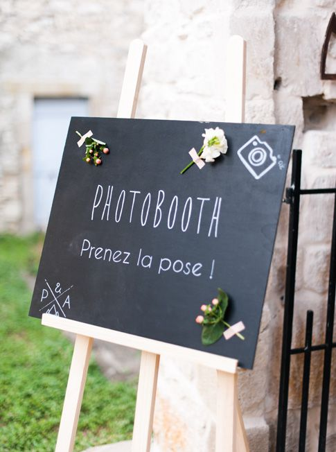 inspiration un photobooth pour mon mariage faire part cr atif le blog. Black Bedroom Furniture Sets. Home Design Ideas