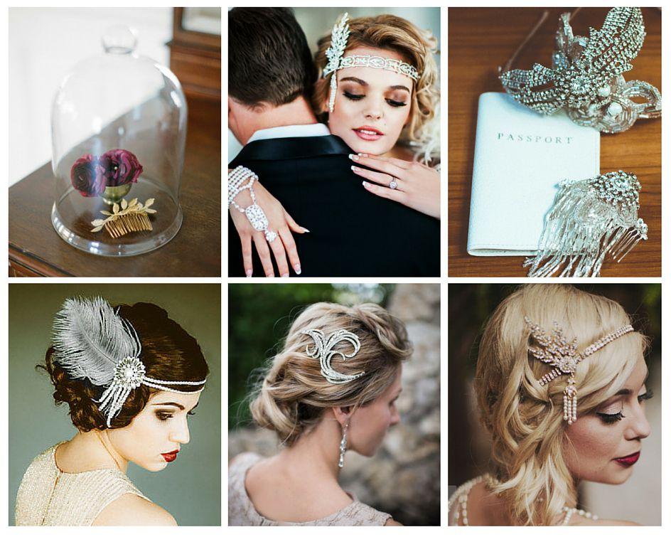 mariage annees 20 bijoux tete