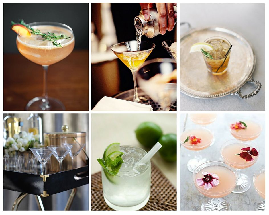 mariage annees 20 cocktails