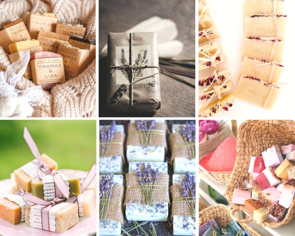 idees cadeaux invites savons