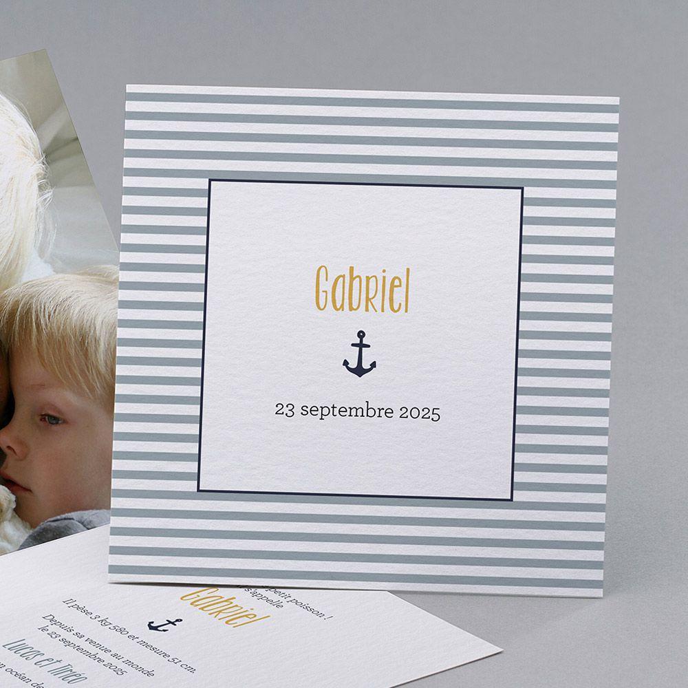 theme marin faire part naissance 5