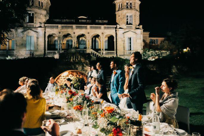chateau sainte cecile table mariage