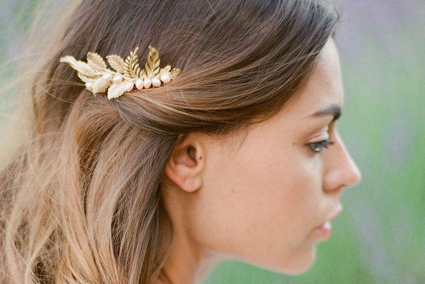 Accessoire cheveux mariage  10 adresses pour la future mariée (et ses  invitées)