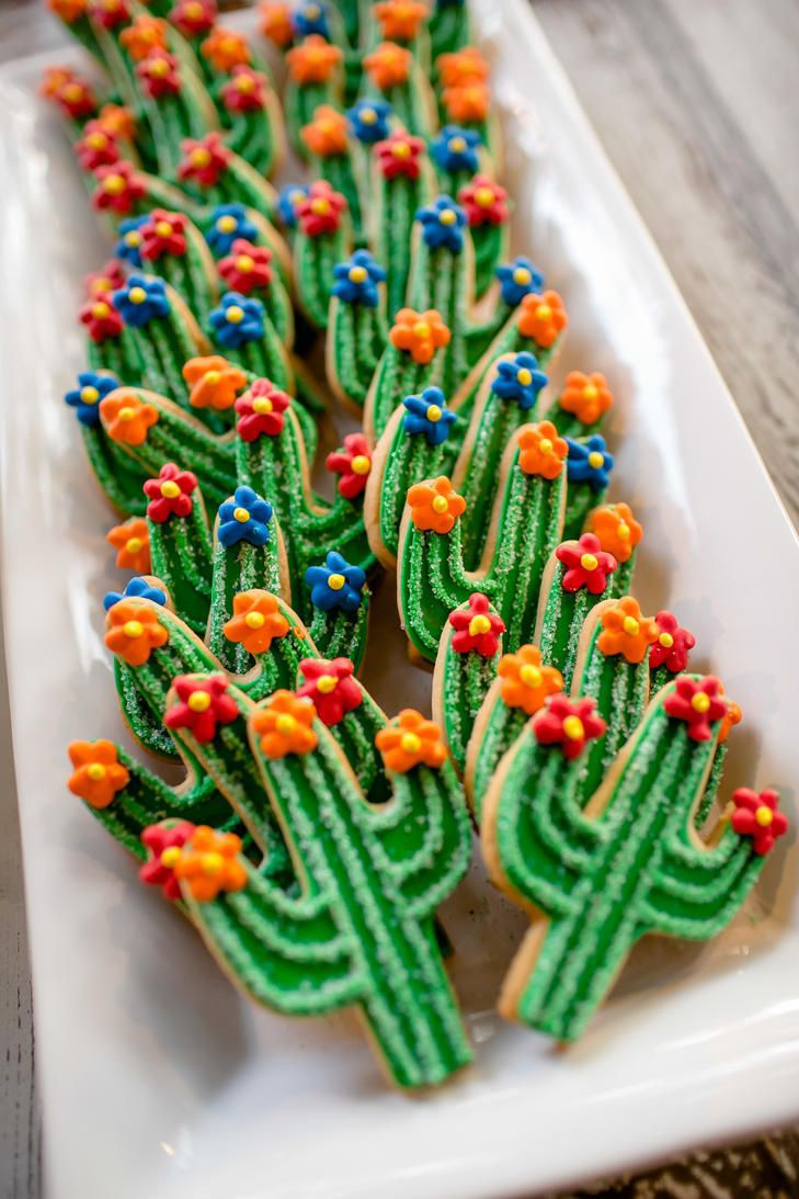 tendace mariage cactus biscuits