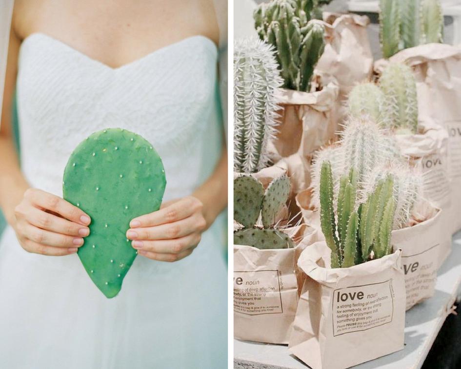 tendance mariage cactus love