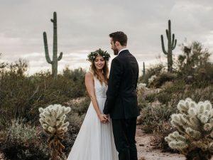 tendance mariage cactus maries desert