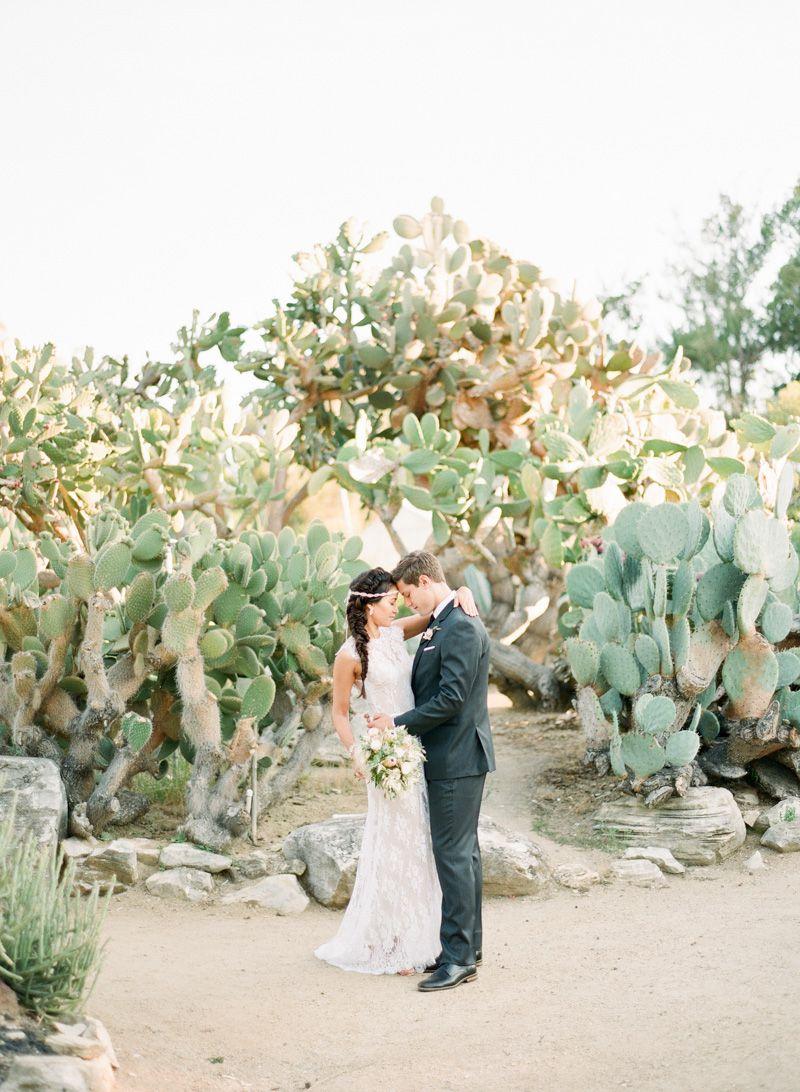 tendance mariage cactus mariés 2