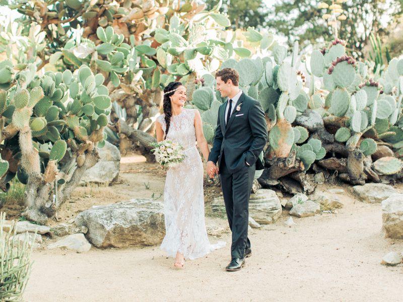 tendace mariage cactus mariés